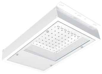 Powerlux Series 2 LED wandopbouw wit